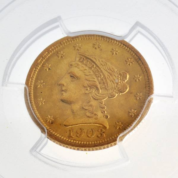 *1903 $2.5 U.S Liberty Head Type Gold Coin - Investment