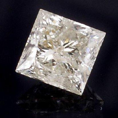 APP: 8.1k *1.62CT Princess Cut Diamond Gemstone