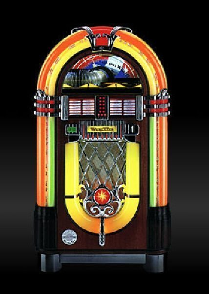 Wurlitzer 1015 One More Time - CD Juke Box - Pick Up On