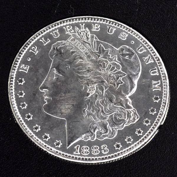 1883-CC United States Morgan Silver Dollar Coin
