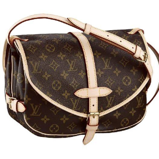 Louis Vuitton Saumur GM Handbag -P-