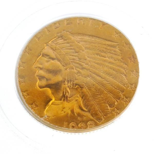 *1928 $2.5 U.S PCGS Indian Head Type Gold Coin