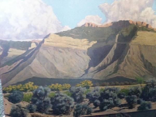 James Swinnerton Unsigned Oil on Canvas