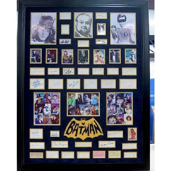 Batman & Villians from TV Show - Authentic Signatures