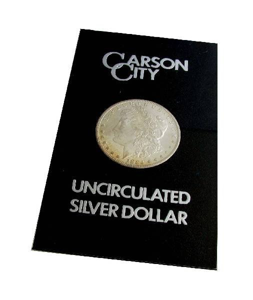 1884-CC United States Morgan Silver Dollar Coin