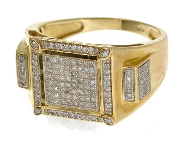 APP: 2k 14kt White & Yellow Gold, Diamond Ring