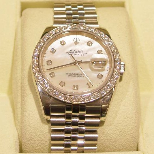 Men's Rolex Datejust (Mother of Pearl) Year 2005 Watch