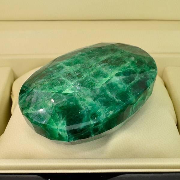 APP: 63.8k 1,182.00CT Oval Cut Emerald Gemstone