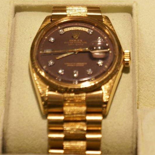 18kt Yellow Gold Men's Rolex Day-Date 36mm Watch