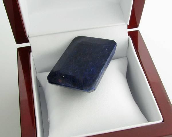 APP: 14.1k 401.80CT Emerald Cut Blue Sapphire Gemstone