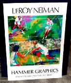 Hand Signed LeRoy Neiman: Mixed Doubles