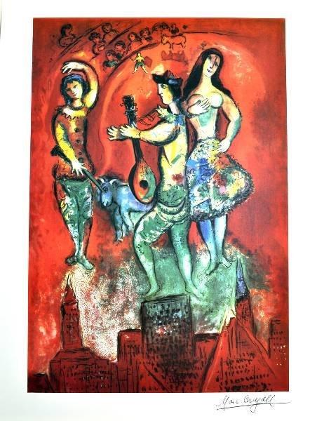 MARC CHAGALL Carmen Print, Limited Edition