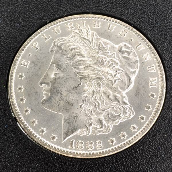 1882-CC Morgan Silver Dollar Coin - Investment