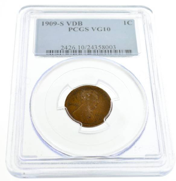 1909-S VDB One Cent Coin - Investment