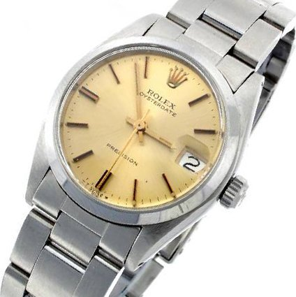 Authentic Rolex Oyster Date Men's Watch