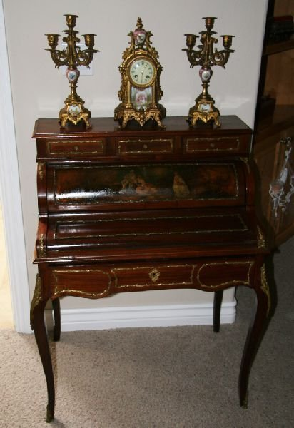 French Inlaid Desk