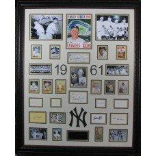 1961 Yankees - Authentic Signatures