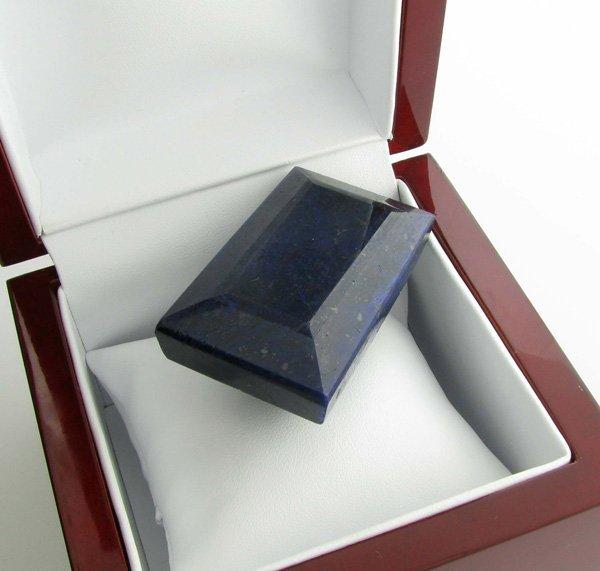 APP: 24k 686.65CT Rectangle Cut Blue Sapphire Gemstone