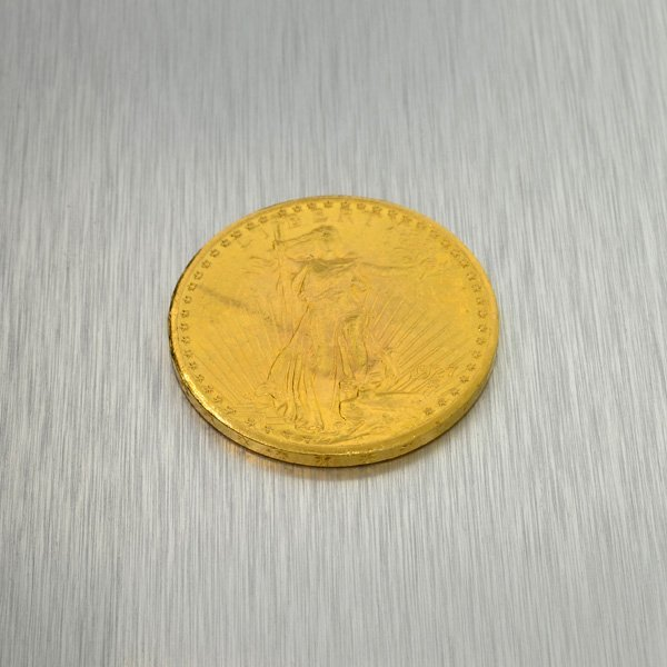 1927 $20 U.S. Saint Gaudens Head Gold Coin - Investment