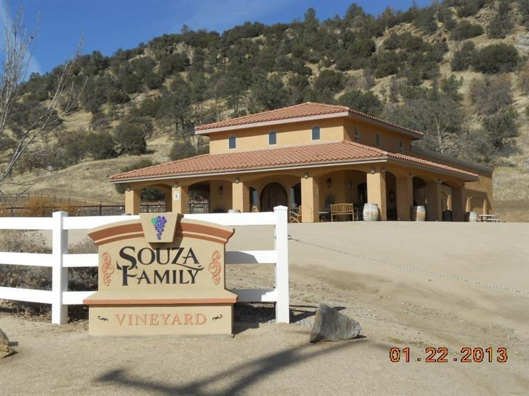 World Famous Souza Family Vineyard & Tasting Room