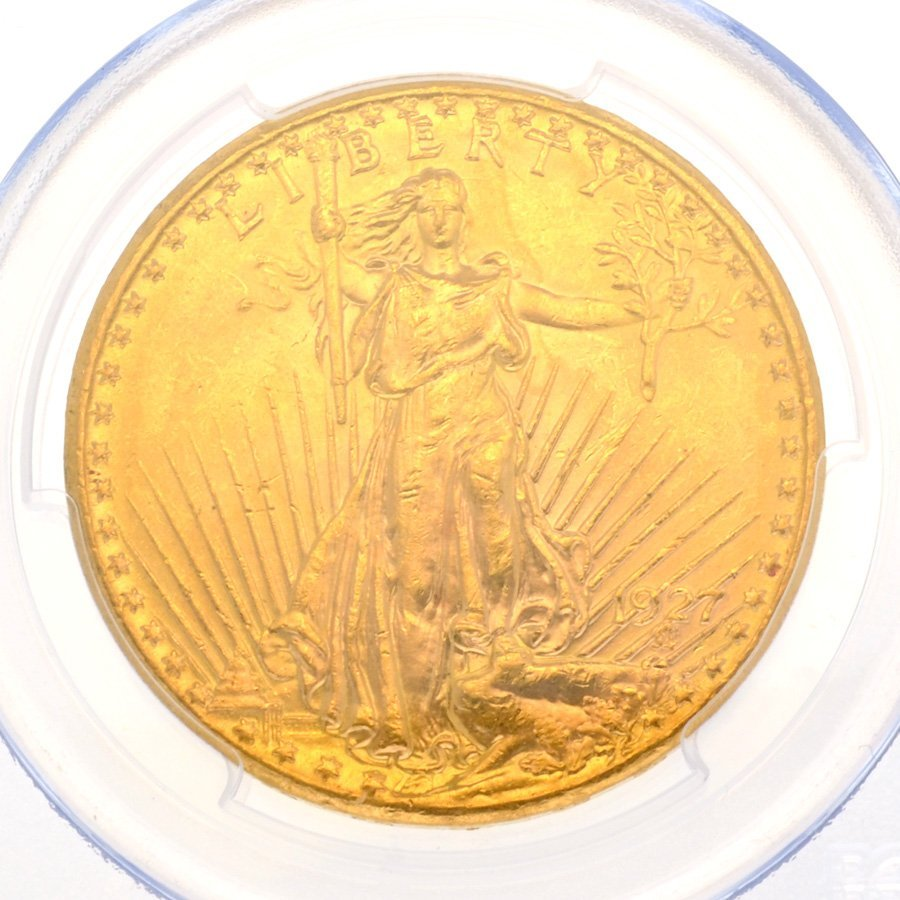 *1927 $20 U.S. Saint Gaudens Gold Coin - Investment