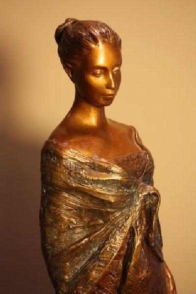 Alice Riordan - Quiet Moment Bronze Sculpture