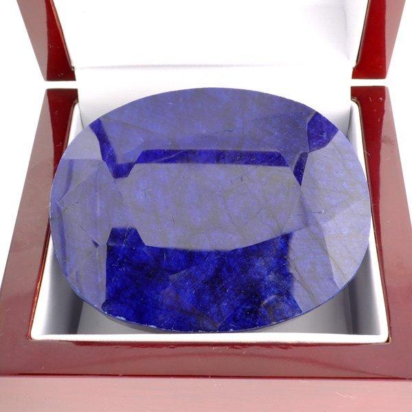 APP: 59.7k 1,704.70CT Oval Cut Blue Sapphire Gemstone