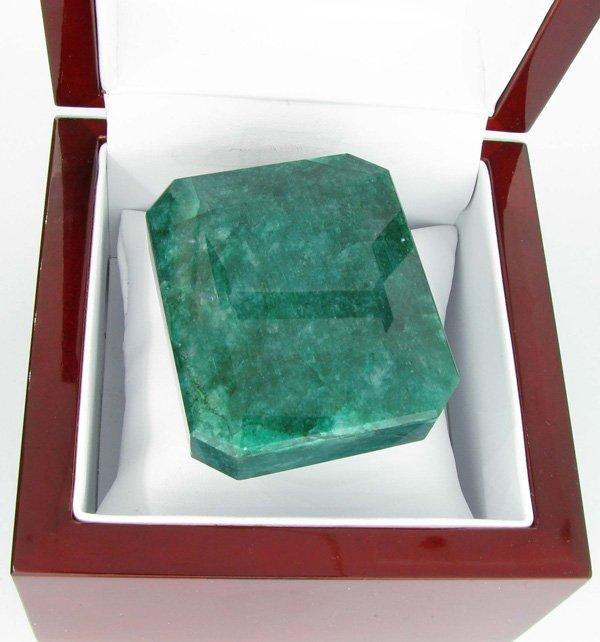 APP: 18.7k 719.70CT Emerald Cut Green Beryl Gemstone
