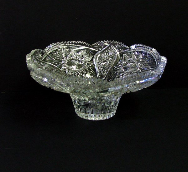 Crystal Candle Dish
