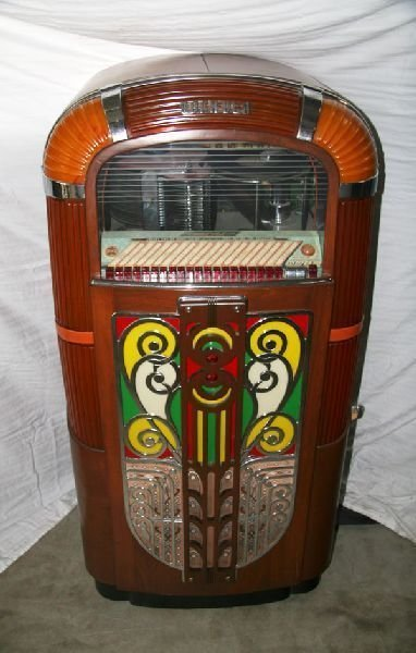 1940's Rockola Juke Box - Pick Up Only