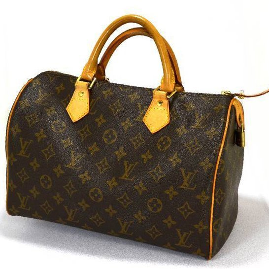 Authentic Luis Vuitton Monogram Speedy 30  Purse