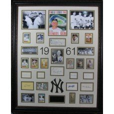 1961 Yankees - Authentic Signatures