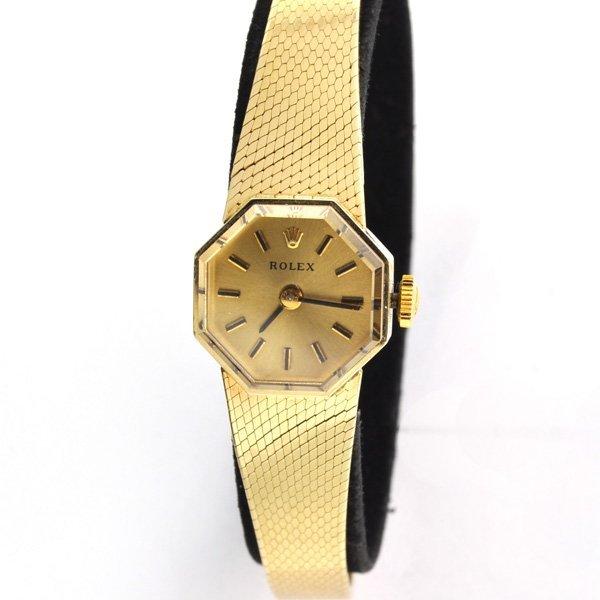 14 kt Gold Rolex Women's Watch