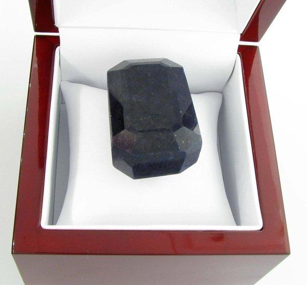 APP: 21.7k 619.80CT Emerald Cut Blue Sapphire Gemstone