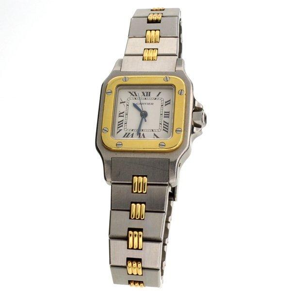 Cartier Women's Swiss Made Stainless Steel & Gold Watch
