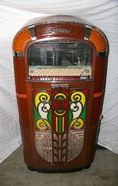 1940's Rockola Juke Box - Pick Up Only