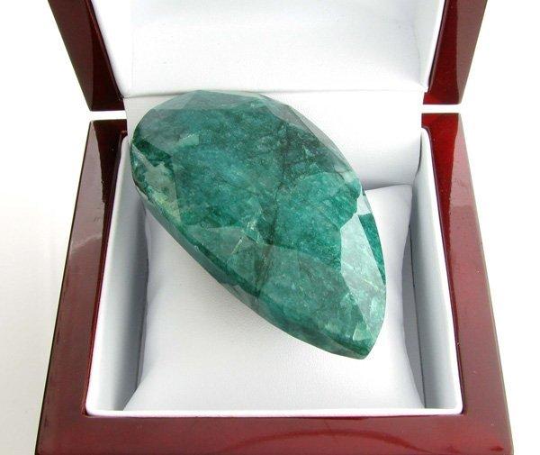 APP: 21.2k 815.25CT Pear Cut Green Beryl Gemstone