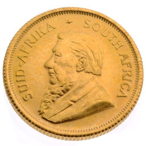 1980 1/10 oz 999 Gold Krugerrand Coin - Investment