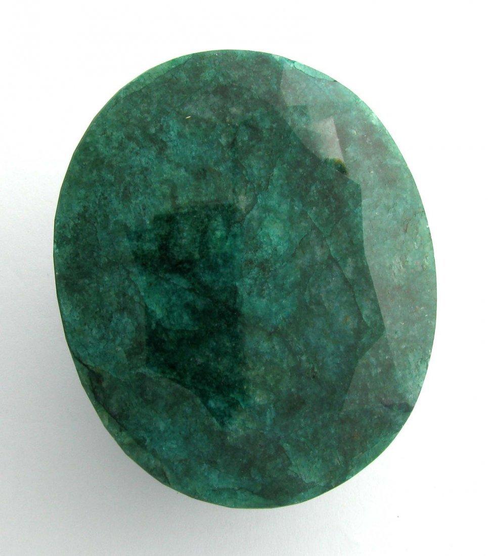 APP: 27.5k 1,057.60CT Oval Cut Emerald Gemstone