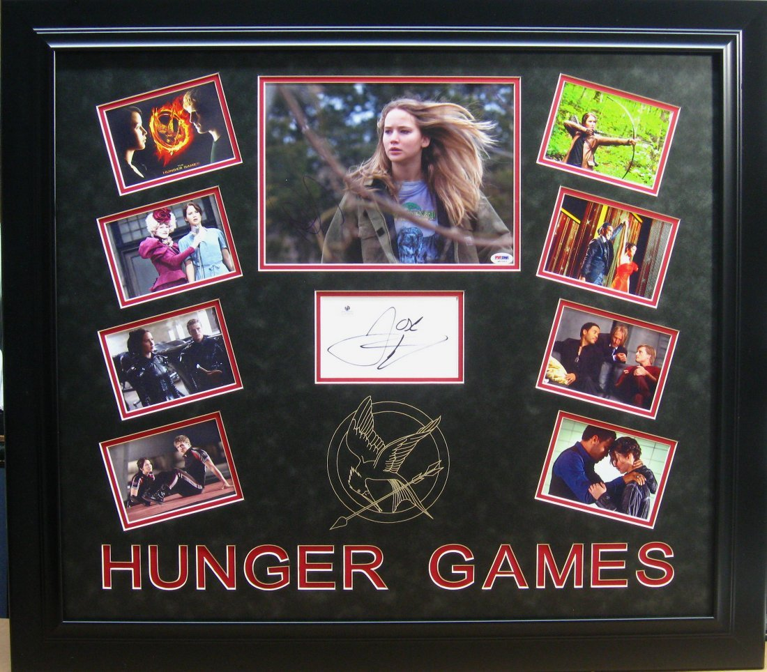 Hunger Games Shadowbox - Authentic Signatures