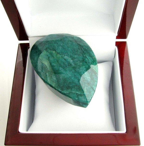 APP: 20.2k 775.10CT Pear Cut Green Beryl Gemstone