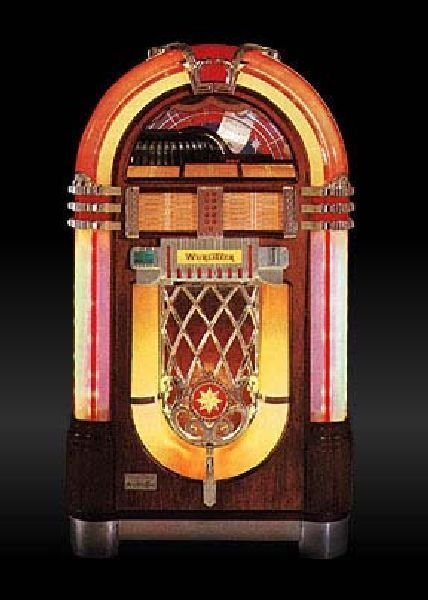 Wurlitzer 1015 One More Time - Vinyl Juke Box - Pick Up