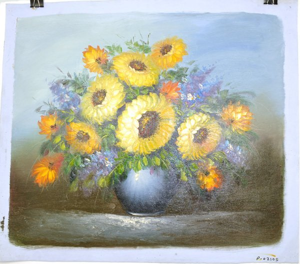 Oil Painting - Flowers in a Vase- 24x27