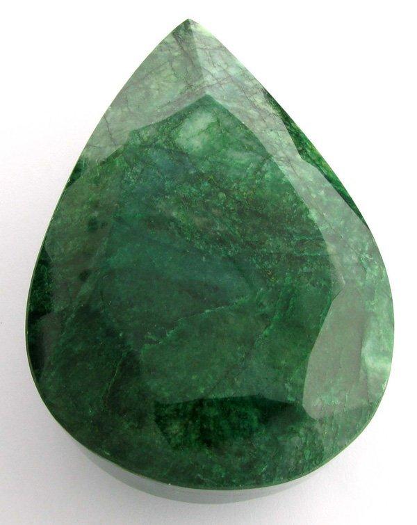 APP: 101k 1,506.90CT Pear Cut Emerald Gemstone