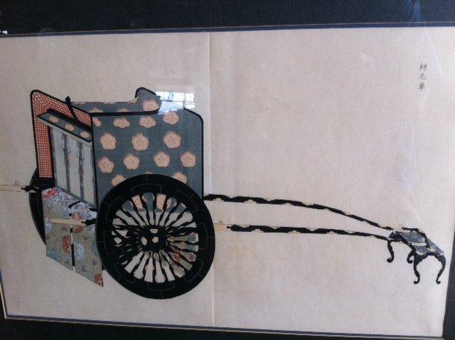 Asian ''Cart'' Painting