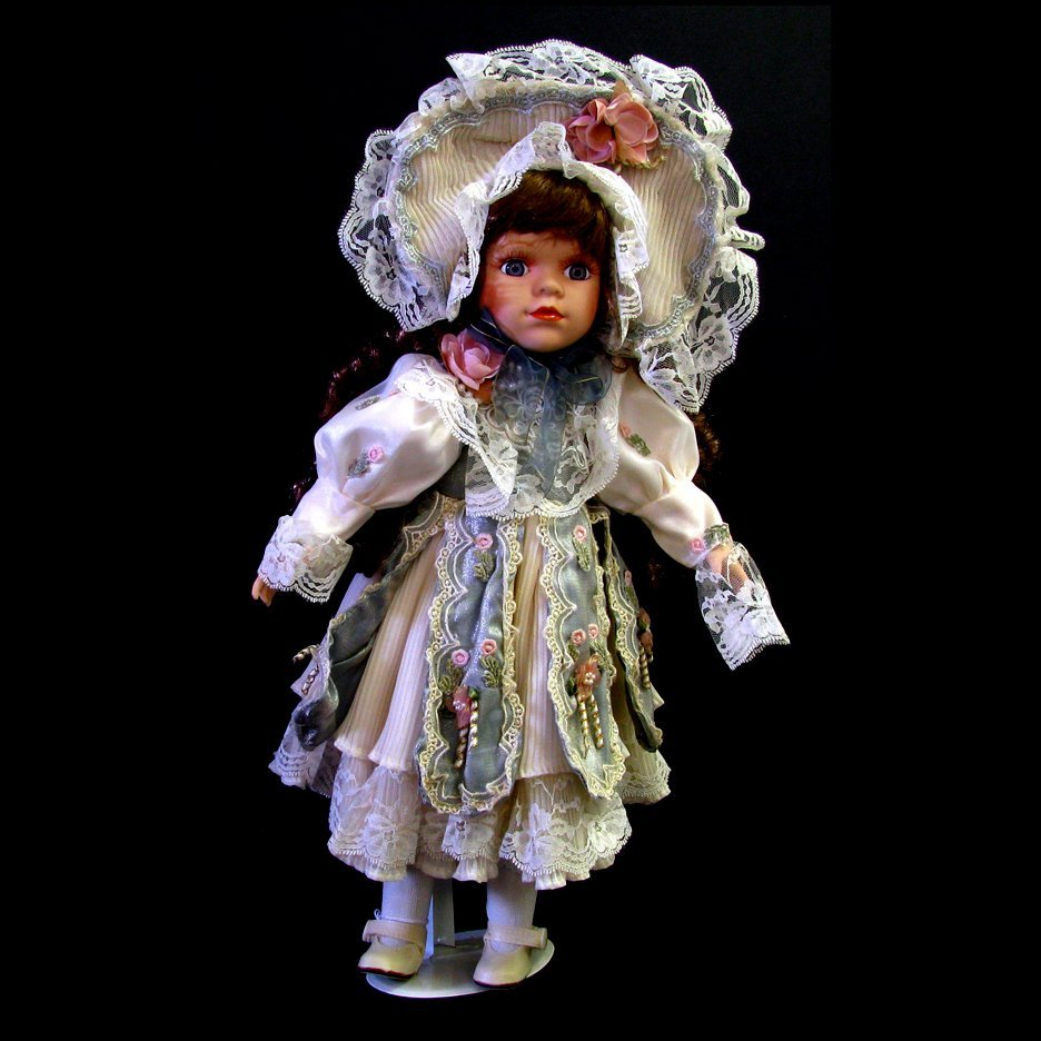 16 in. Doll w/Stand