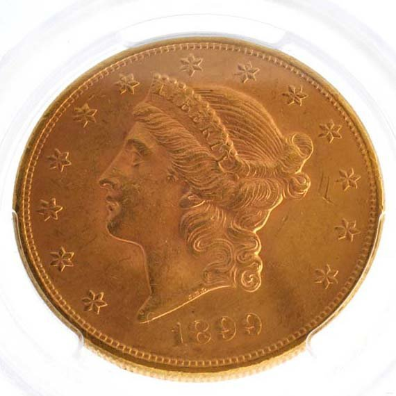 *1899 $10 U.S Liberty Head Gold Coin - Investment