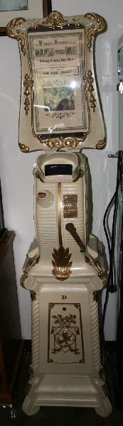 Early Cast Iron Clamshell Mutoscope-Fully Restored -
