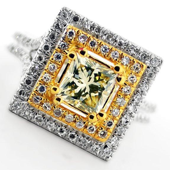 APP: 12k *14kt White & Yellow Gold, 1.50CT Diamond Ring