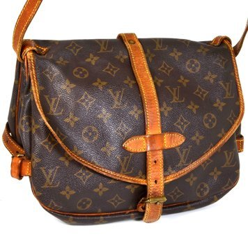Authentic Louis Vuitton Saumur Shoulder Bag Pre Owned